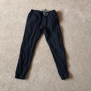 Men's Adjustable Black Rue21 Joggers